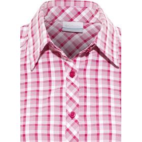 Columbia Surviv-Elle II Maglietta a maniche corte Donna rosa/bianco